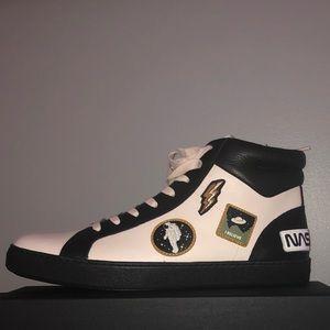 Rare coach x nasa high top sneakers men's sz 12